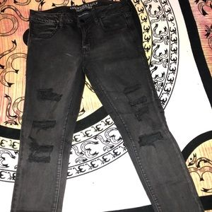 AEO Black Super Super Stretch Jeggings
